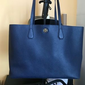 Tory Burch Perry Tote in Navy